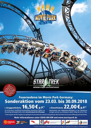 LFV-Info - 2018-02 - Sonderaktion Movie Park © LFV